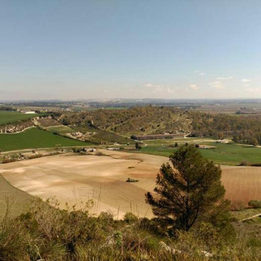 Vista del Cerro de la Bola desde la Sierra de San Cristóbal